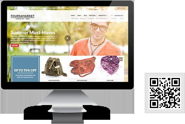 456Market – Template eCommerce WordPress