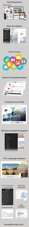 Basata - Template Responsive e Retina WordPress
