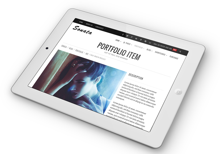 Sonata - Template WordPress Multiuso