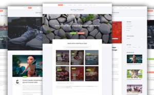 Sarmys is a clean and creative free WordPress theme